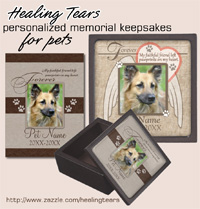 Healing Tears Pet Memorial Keepsakes