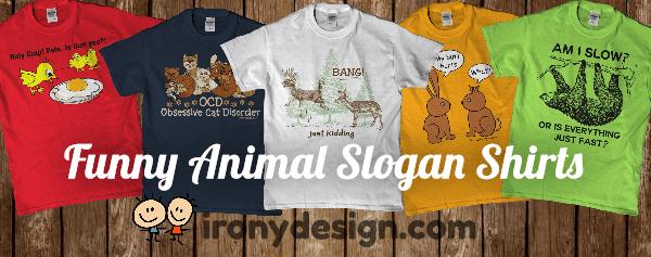 Funny Chicken Slogans: Funny Animal Slogan Shirts And Tees