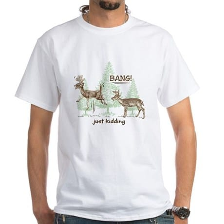 Funny Deer Hunting T-Shirts and Gifts