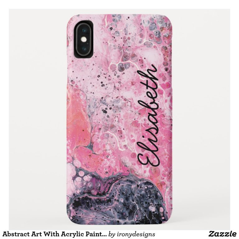 Fluid Pour Art Phone Cases and Phone Covers